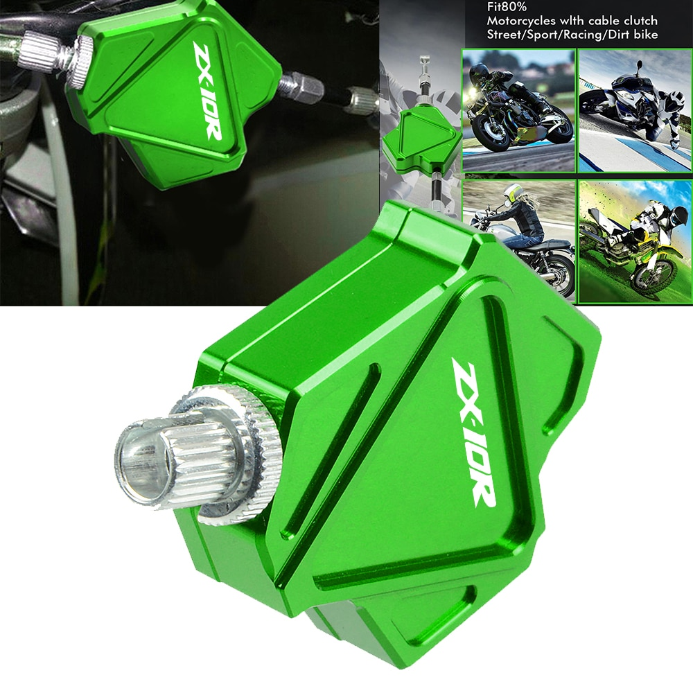 NEW Clutch Lever Easy Pull Cable System Motorcycle Accessories Fashion Logo For KAWASAKI ZX10R ZX1100/ZX11 ZX 10 R ZX 1100 ZX 11