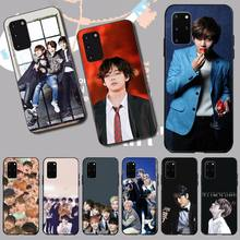 PENGHUWAN Kpop Bangtan Boys Soft Silicone TPU Phone Cover for Samsung S20 plus Ultra S6 S7 edge S8 S9 plus S10 5G