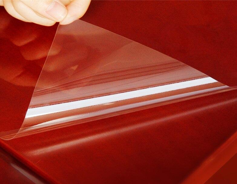 Прозрачная защитная пленка SUNICE для мебели, 80 см х 500 см, Настольная мраморная пленка для столешницы, кухонные самоклеящиеся обои