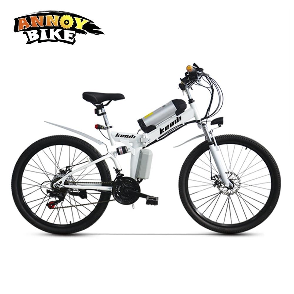 26 pulgadas eléctrico Bicicleta eléctrico de la motocicleta Bicicleta Plegable con batería...