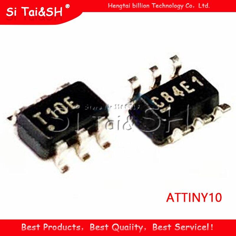 5 шт. ATTINY10-TSHR SOT23-6 ATTINY10 T10E SOT SMD 10-TSHR