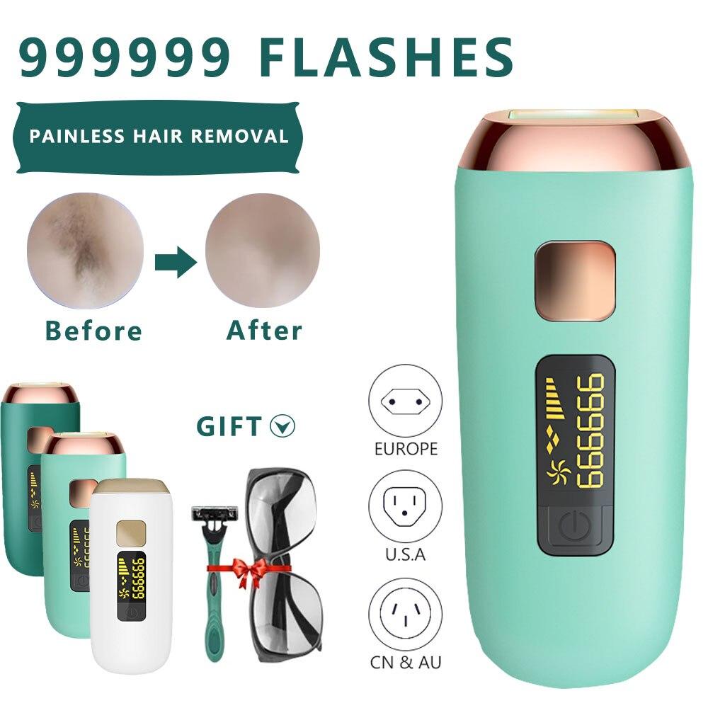 MAXFRESH-Dispositivo de depilación láser para mujeres y hombres, fotodepiladora IPL indolora, permanente,...