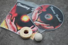 Boule de feu flottante (DVD & Gimmick) -gros plan rue scène accessoires de magie fête Fun tours de magie Gimmick mentalisme accessoires