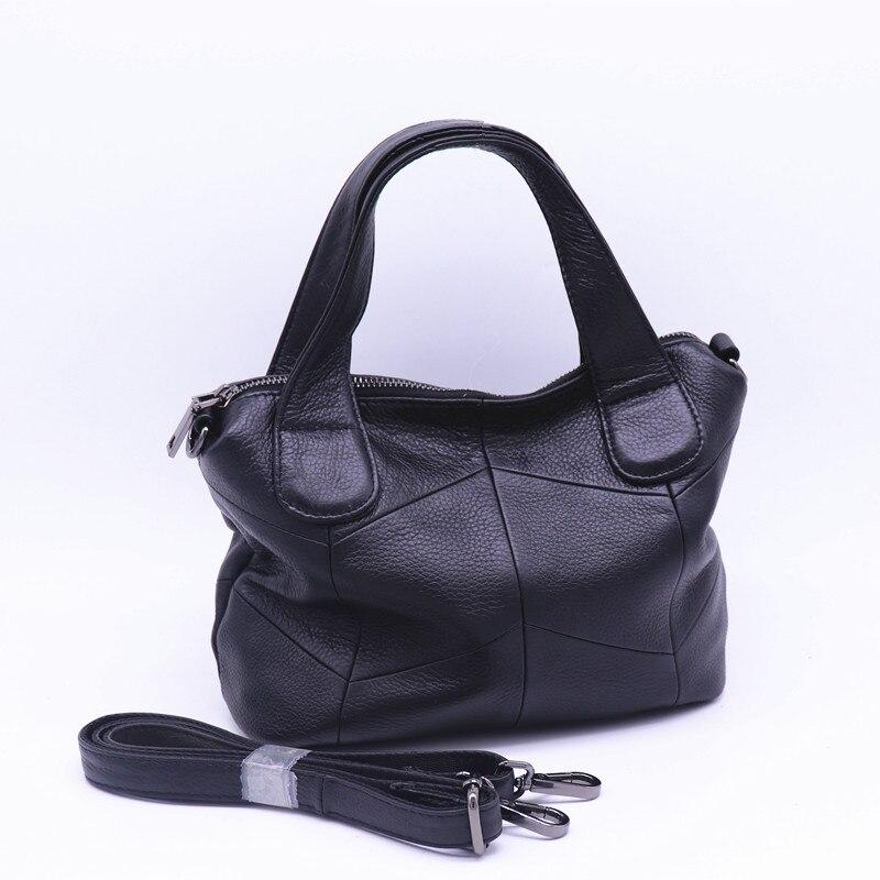 حقائب يد صغيرة من الجلد الطبيعي للنساء ، حقيبة كتف ، حقيبة ساعي ، حقيبة حمل غير رسمية ذات نوعية جيدة ، حقيبة كتف مصممة