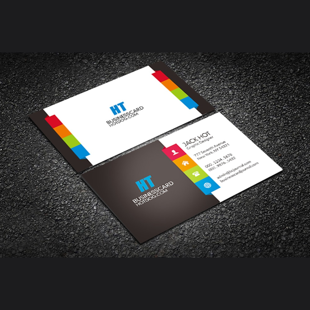 500pcs free delivery, free design, customized 300gms logo printing business card, double-sided and full color printing, round