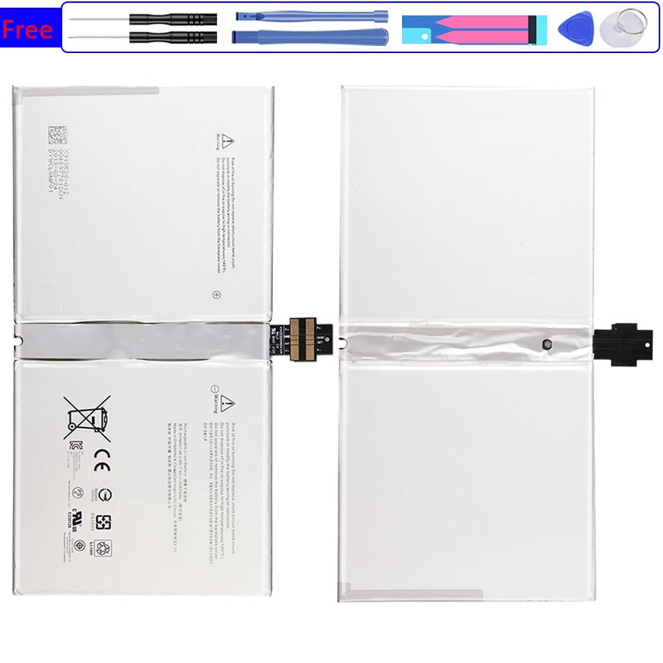 بطارية 5087 مللي أمبير لجهاز Microsoft Surface Pro 4 1724 ، 12.3 بوصة ، 7.5 فولت ، 38.2WH ، بطارية
