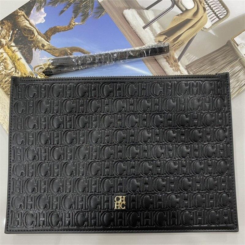 7 ألوان CH العلامة التجارية حقائب صغيرة مربعة 2021 جديد مصمم الشهيرة CHHC حقائب النساء عالية الجودة جلد طبيعي مخلب محفظة لويس حقيبة