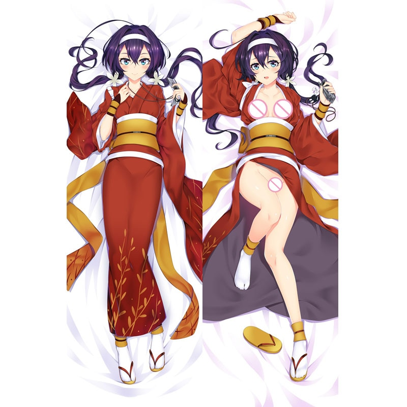 Atacado japão anime bungo cães vadios kyoka izumi corpo sexy dakimakura cama otaku abraçando feminino fronha capa diy gfts