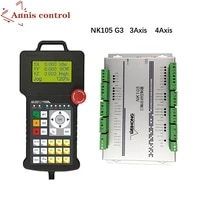 nk105 g2 g3 diy 3 axis 4 axis cnc motion control system woodworking engraving machine handle type offline controller weihong