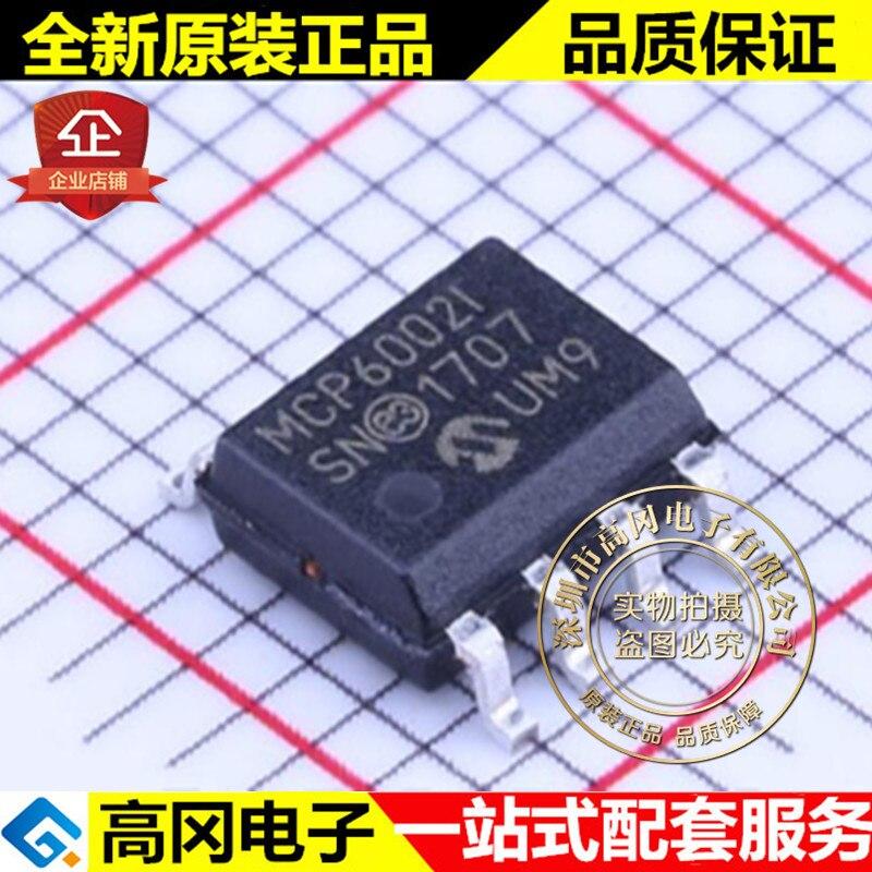 5 piezas MCP6002T-I/SN MCP6002I SOP8 MICROCHIP