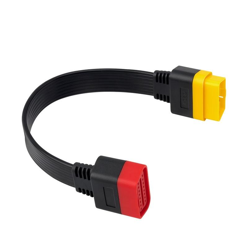 Dutriux-cable de extensión OBDII de 16 Pines, macho a hembra, conector OBD2,...