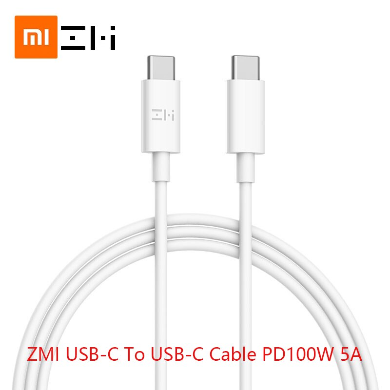100W 5A usb 타입 c-usb 타입 c 케이블 PD 충전기 xiaomi mi Notebook pro 용 Samsung huawei macbook 전원 케이블 고속 충전 2m