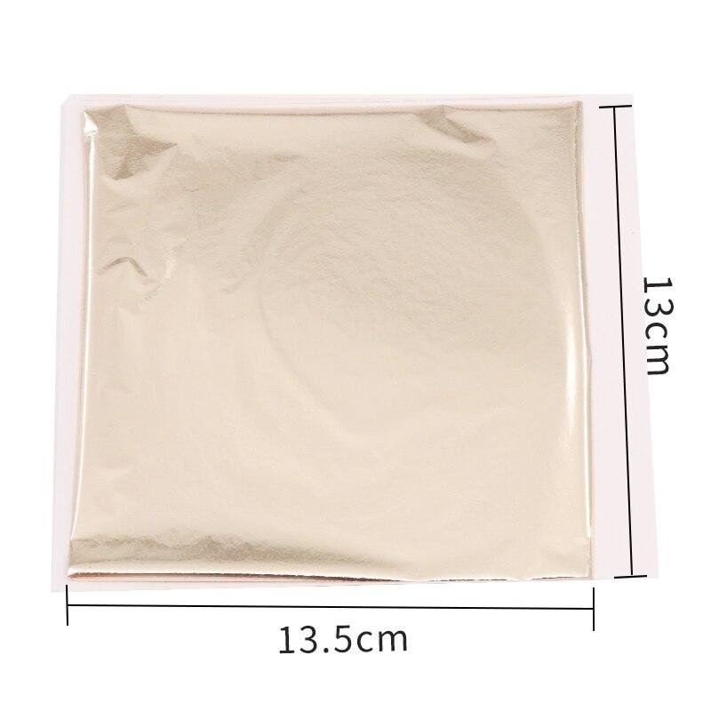 Folha de prata antiga do ouro de taiwan do papel do brilho da folha de ouro da imitação para a mobília da parede dos ofícios da arte stat