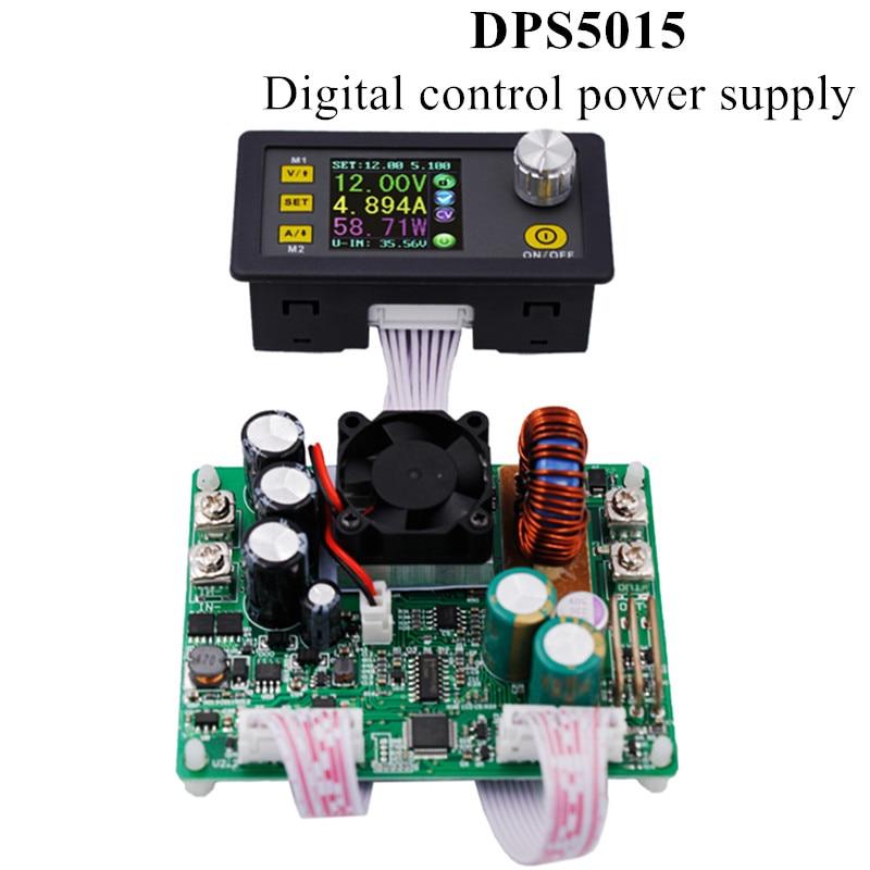 DPS5015 التحكم المستمر الجهد المستمر مصدر إمداد بالتيار الاتصالات الحالية محول جهد كهربي الفولتميتر 50 فولت 15A 40% off