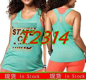 FIT FUNKY  Womens Knitted cotton clothes  zum fitness clothes  tshirt  tops  fashion vest  tank Open Back Tshirt  2314