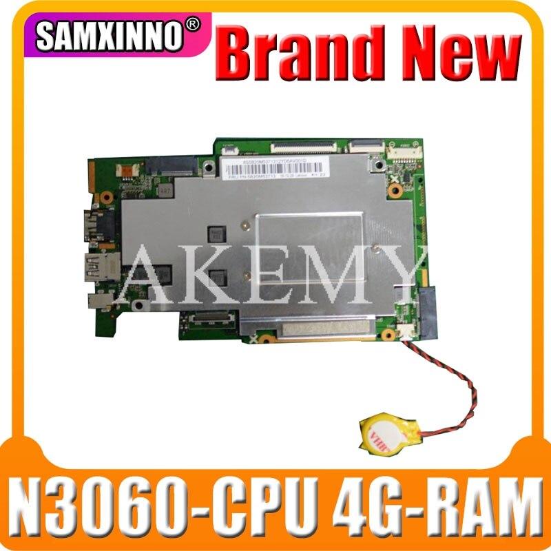 لينوفو Ideapad 110S-11IBR اللوحة الأم 110S-11IBR كمبيوتر محمول Mianboard NE116BW2_V1.0 N3060-CPU 4G-RAM