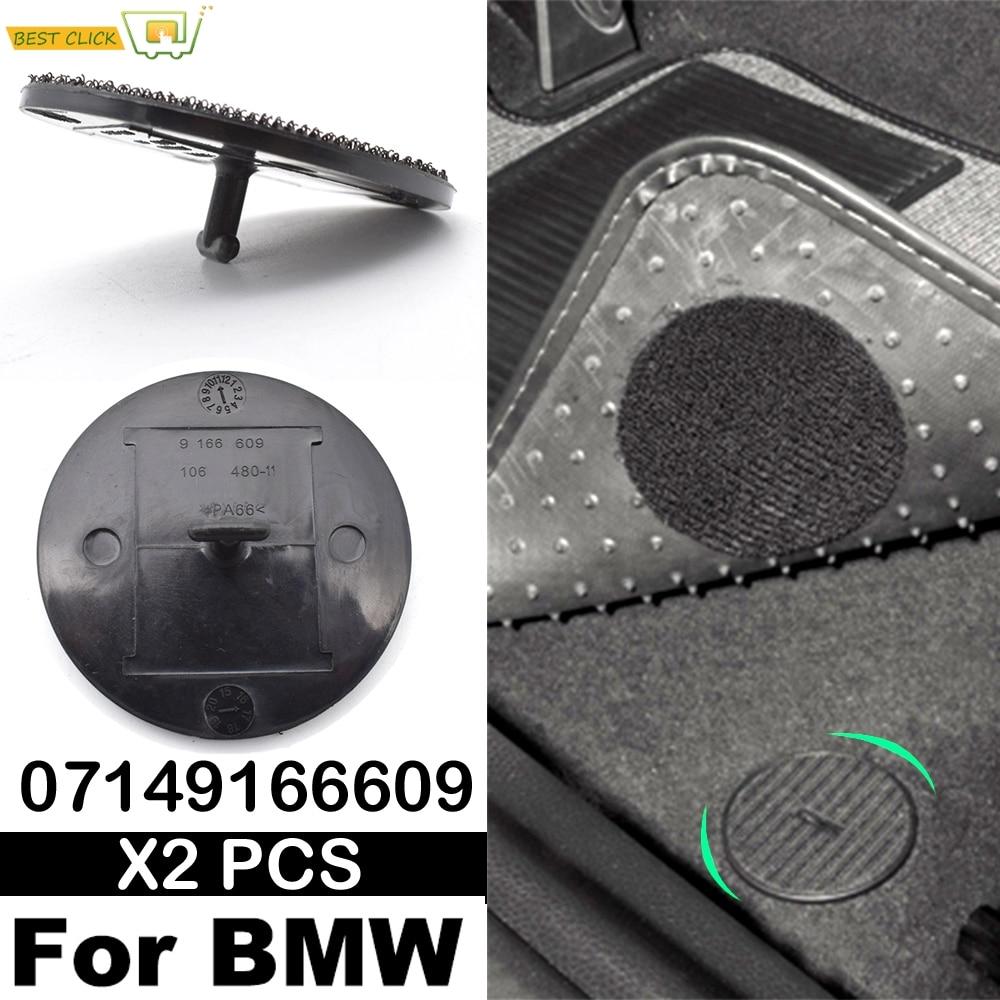 Car Carpet Floor Mat Clips Turn Twist Lock For BMW E32 E36 E46 E38 E39 07149166609 Holders Fixing Grips Buckles Clamps Mini