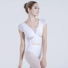 White/black Leotard For Women Ballet Dance Leotards Ballerina Leotard Adult Dance Yoga Costume Professional Gymnastics Bodysuit