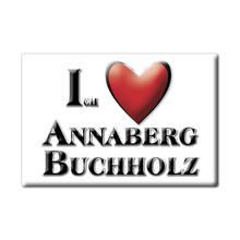 ANNABERG BUCHHOLZ aimant lodestone SACHSEN (SN) allemagne réfrigérateur aimant SOUVENIR jaime cadeau