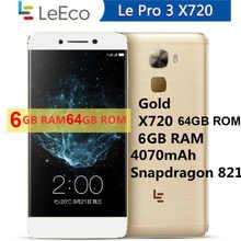 Мобильный телефон 6 ГБ ОЗУ 64 Гб ПЗУ Snapdragon 821 /3 ГБ ОЗУ 32 Гб ПЗУ Helio X20 LeTV LeEco Le S2 S3 pro 3 X720 /X620 /X626