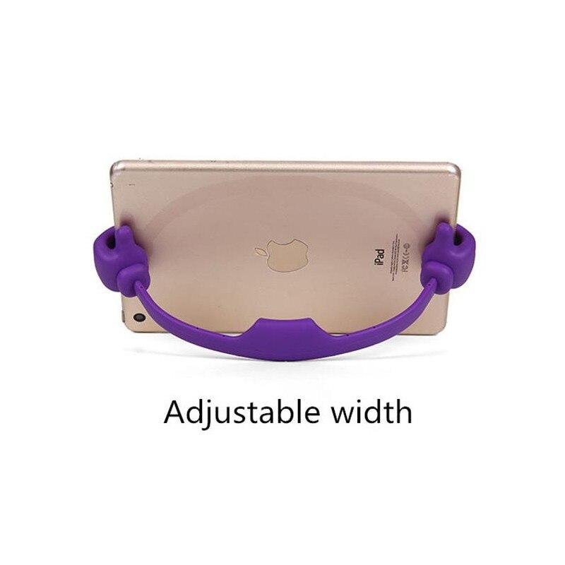 Portátil móvil de la tableta del teléfono celular soporte pulgar apoyo stents para Bluboo D5 D6 Pro S3 D1 D2 S1 S8 Lite S8 + Dual borde Picasso