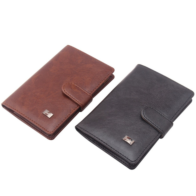 Creative PU Passport Cover Russian Driver License Wallet Retro Leather Men Travel Wallet Credit Card Holder Cover Document Case passport cover genuine leather driver license bag crazy horse leather car driving document credit card holder purse wallet case