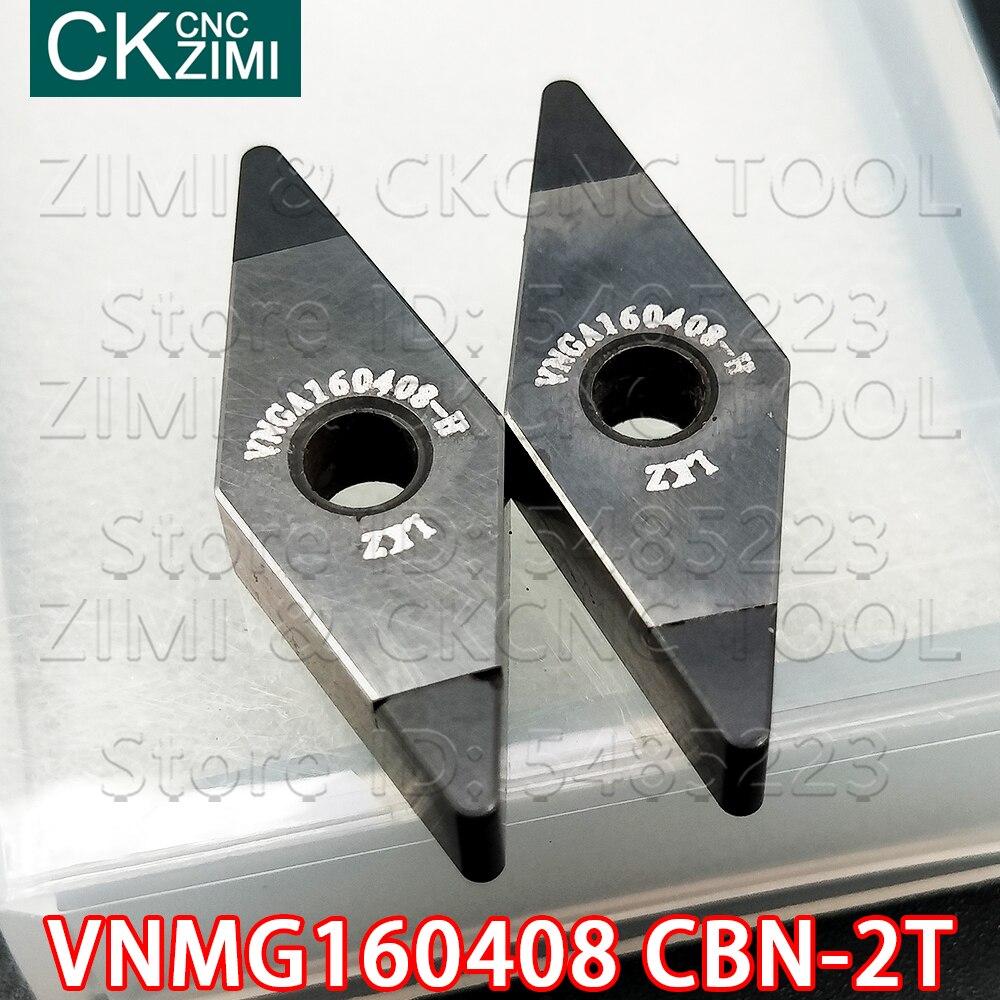 VNMG160408 CBN 2T الماس شفرة عالية صلابة 2 زاوية مكعب نيتريد البورون CNC الخارجية تحول أدوات حامل مخرطة VNMG للصلب