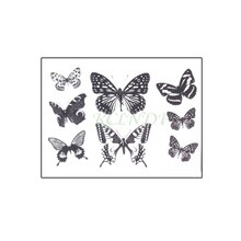 Waterproof Temporary Tattoo Sticker Beautiful Butterfly Small Body Art Fake Tatto Flash Tatoo Wrist