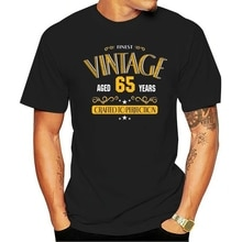 65th Birthday Shirt Gift - 65 Years Old Funny Birthday Tee
