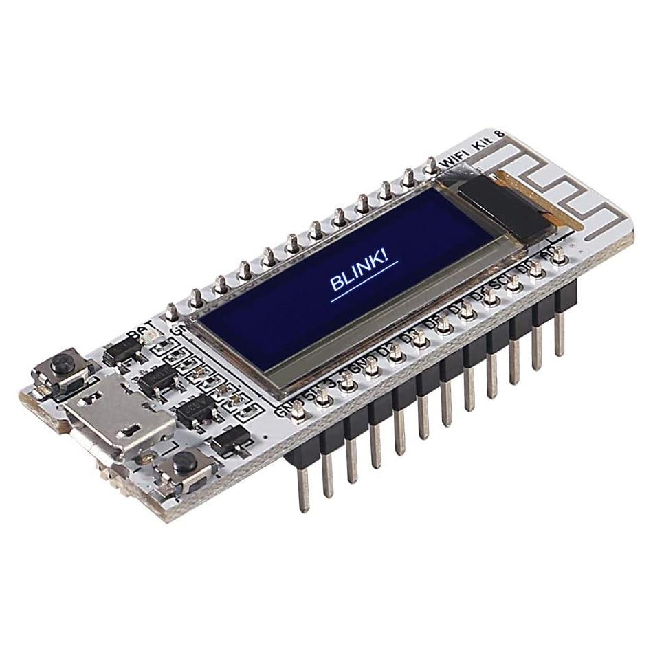 New ESP8266 0.91 Inch OLED WiFi Development Board ESP8266 OLED Display CP2102 For Arduino IDE ESP8266