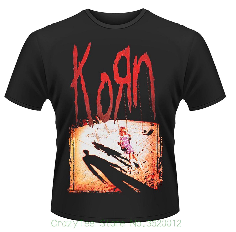 Camisetas estampadas de moda para hombre, álbum Korn, 1994, camiseta oficial de Metal para hombre Unisex