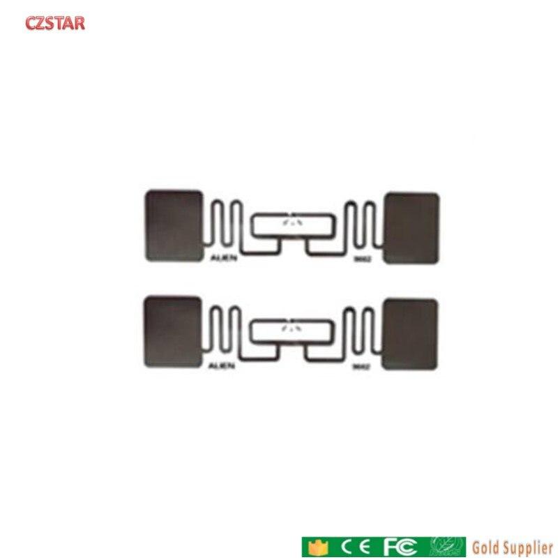 Etiqueta Adhesiva RFID UHF de largo alcance incrustaciones húmedas 860-960mhz Alien H3 EPC Global Gen2 ISO18000-6C