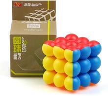 CuberSpeed YJ 3x3 boule Cube perle 3x3x3 Puzzle de Cube magique sans colle