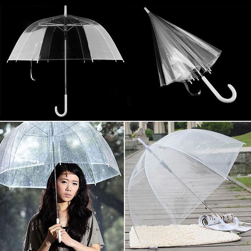 Sombrilla con forma de seta, accesorios de boda, sombrilla para bodas, decoración de boda, paraguas transparente
