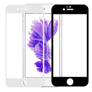 Закаленное стекло с полным покрытием для iPhone 7, 8, 6, 6s Plus, 5 5S SE 2020, Защита экрана для iPhone 11, 12 Pro, X, XR, XS MAX, стеклянная пленка