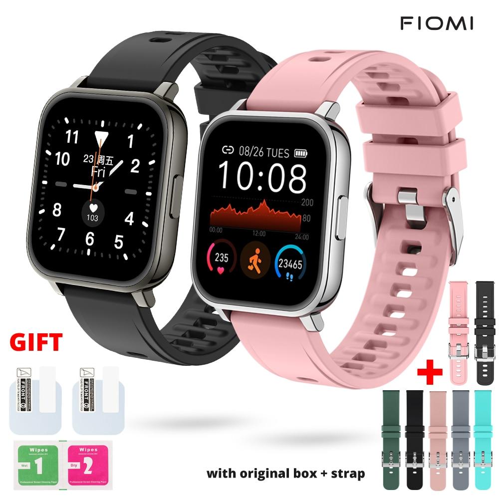 Fiomi P25 Smart Watch Fitness Pedometer Health Heart Rate Sleep Tracker IP67 Waterproof Men Women Sp