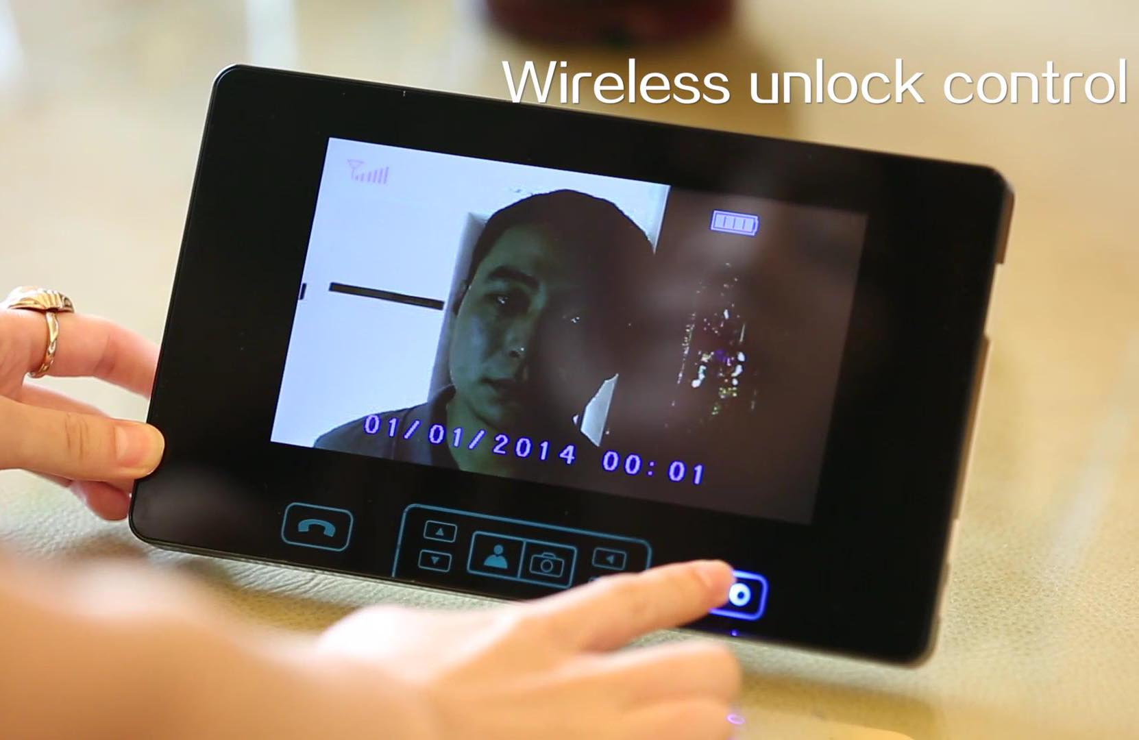 2.4GHz Digital Touch Key 7