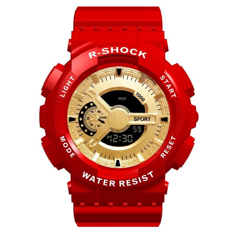 Спортивные мужские часы большого размера Военная Сигнализация люксовый бренд