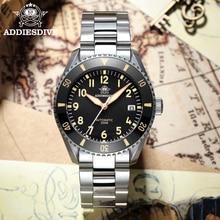 Addies Dive New luxury pilot Men's watches 316L stainless steel luxury super luminous watch Ceramic