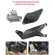 Мотоцикл с ЧПУ Защита двигателя мотоцикла ночлега Рамка слайдер протектор для SUZUKI GSX-S750 2015 2016 2017 2018 2019 GSX-S 750 GSX S750