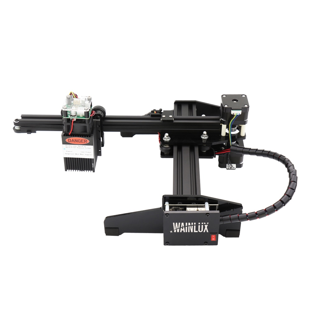آلة النقش بالليزر لسطح المكتب ، آلة النقش بالليزر المحمولة ، ذراع واحد صغير ، راسمة طابعة CNC ، 7W ، 20W ، CNC