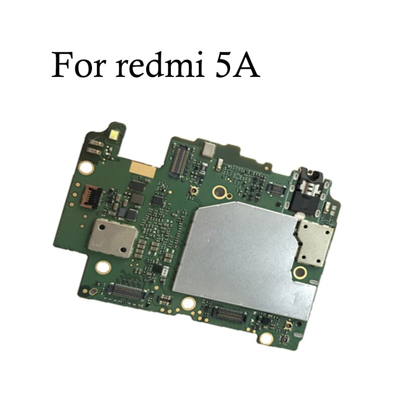100% probado completa Original desbloquear placa base para xiaomi Redmi note 5A 16gb 32gb para hongmi xiaomi Redmi 5A placa lógica placa base