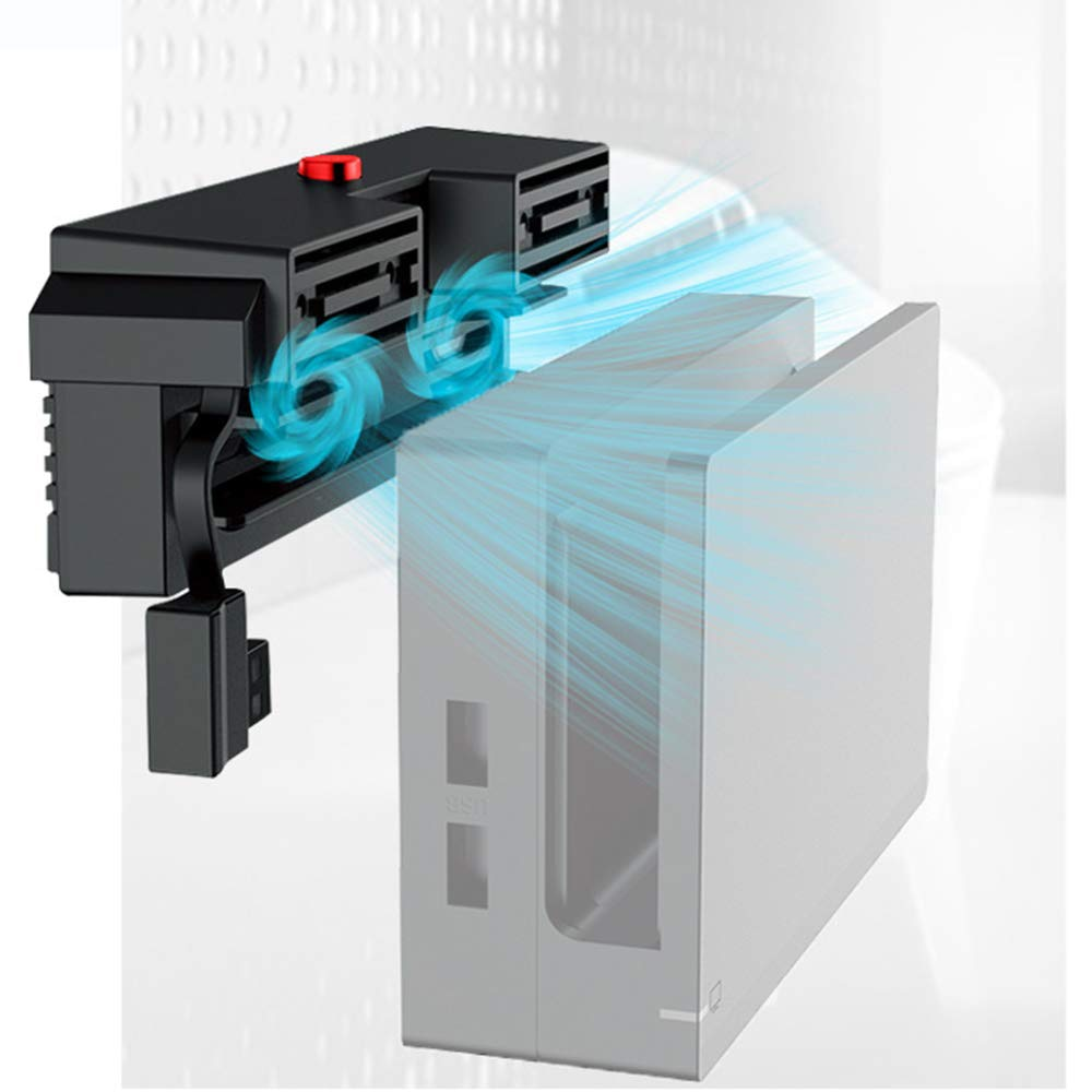 Cooling fan Fans External USB Power Super Cooler Fan Nintend Switch 5000RPM  For Nintendo Switch NS Console Accessories