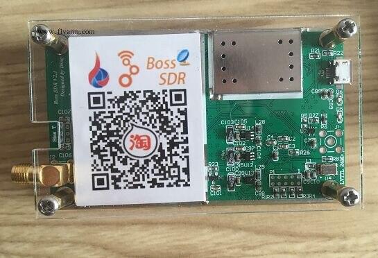 Wideband de 10KHz-2GHz, Software de 14 bits, receptor de Radios SDR definido, SDRplay con controlador de antena y software con TCXO 0,5 ppm