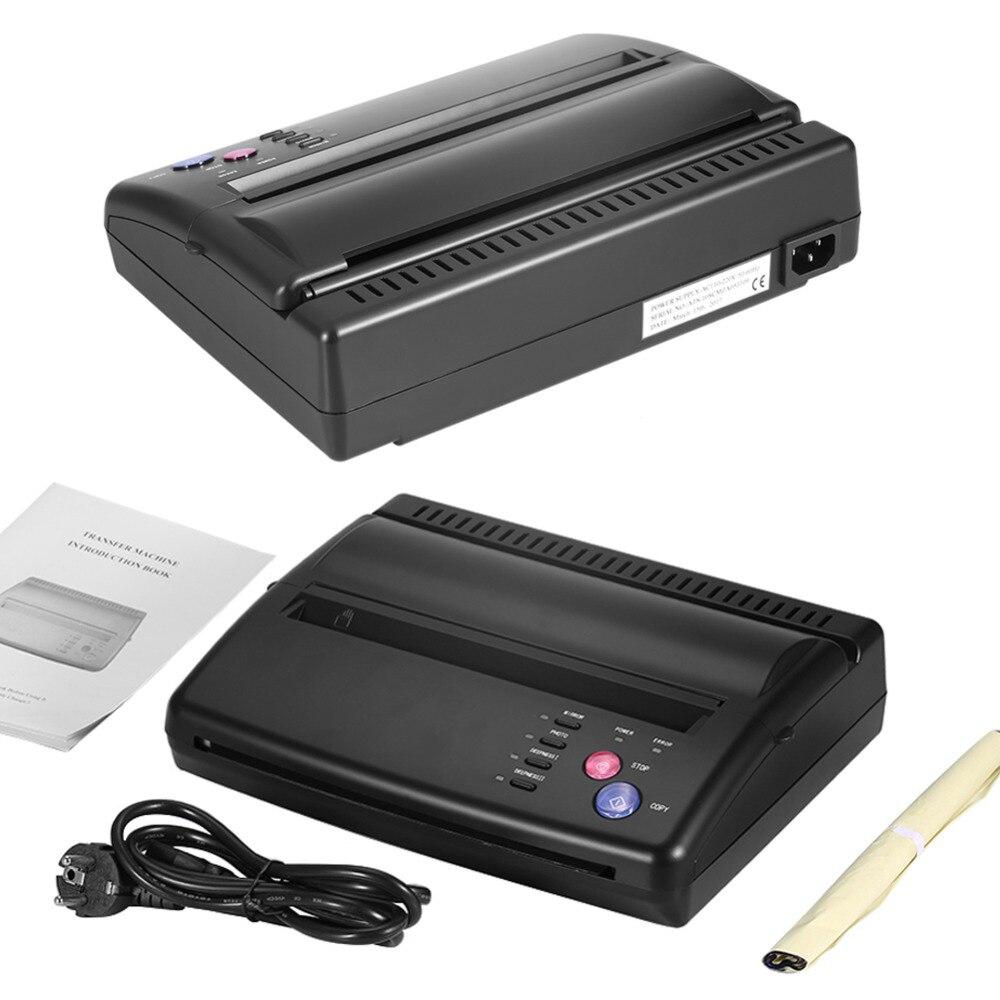 Tattoo Transfer Copier Thermal Stencil Paper A5 & A4 Printer Machine Normal Tattoo Paper And Photo Tattoo Supplies Professional