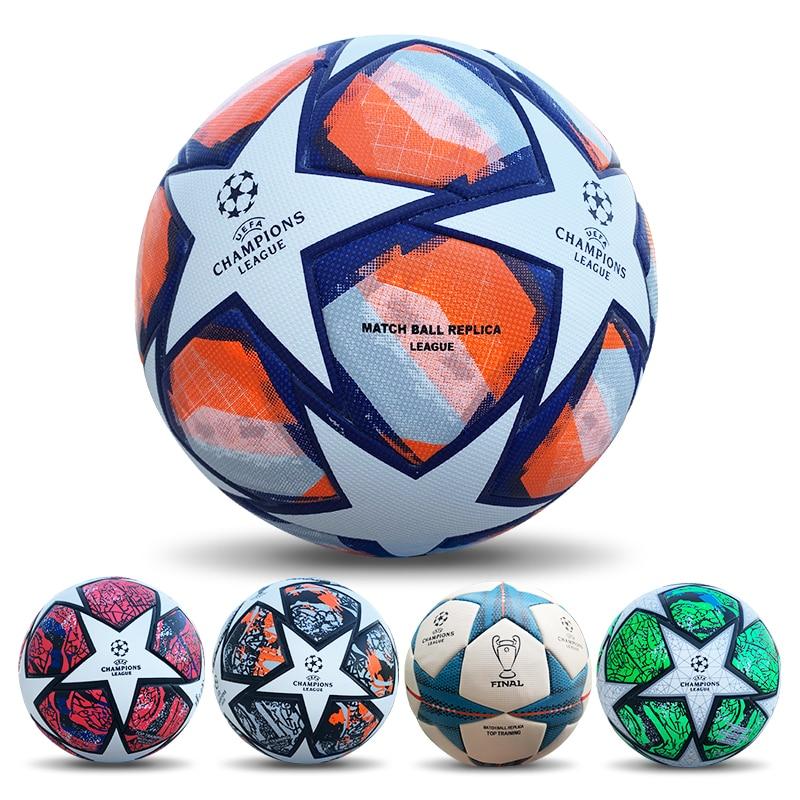 Бесшовный футбольный мяч высокого качества, футбольный мяч, гол, команда, матч, мячи, спортивные тренировочные мячи, тренировочные мячи лиги...