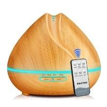 400 мл Электронный ультразвуковой Ароматерапевтический диффузор с дистанционным управлением увлажнитель воздуха с эфирными маслами Аромат...