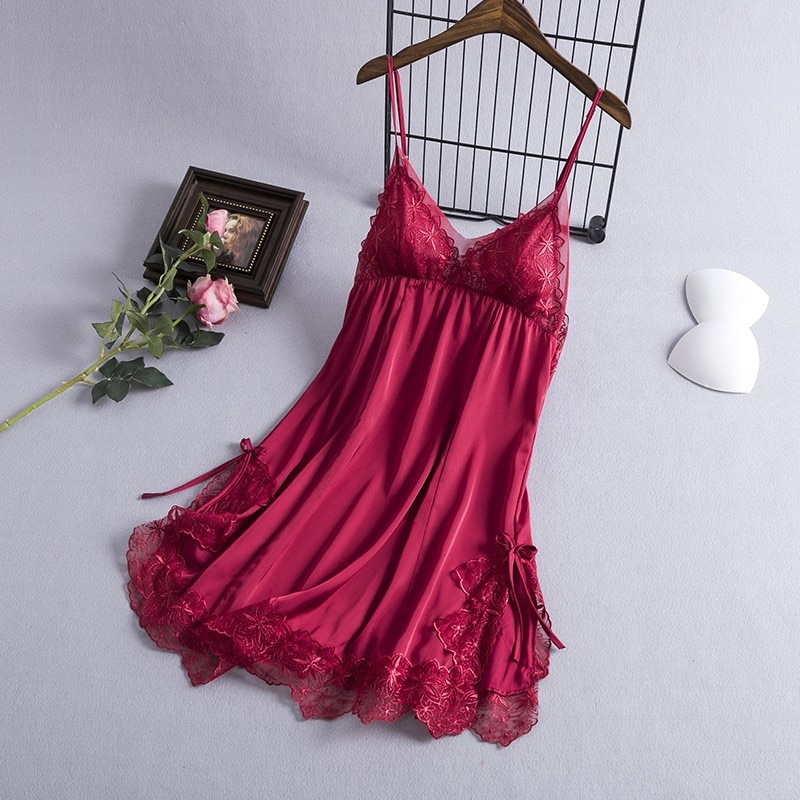 Bata de novia rosa para dama de honor para boda, vestido de noche de satén suave, ropa de dormir de gran tamaño 3XL, camisón, liga, falda, camisón