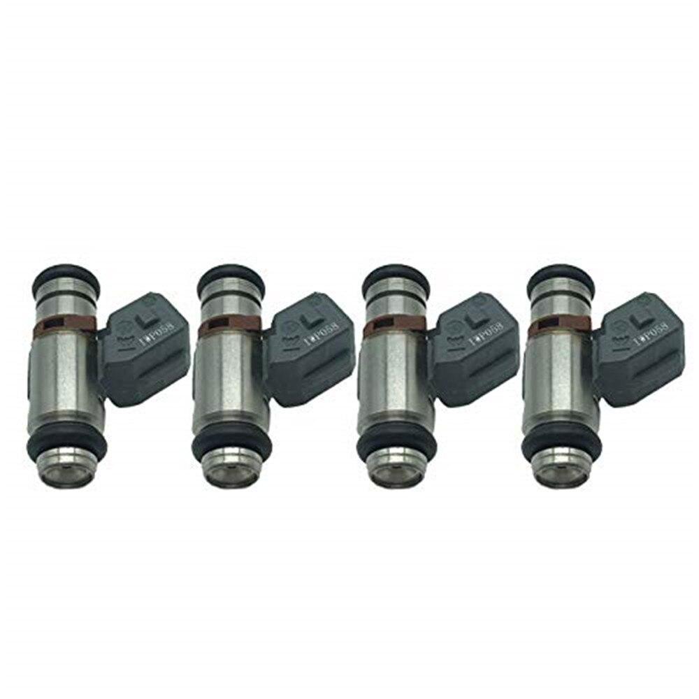 4PCS Fuel Injector Nozzle OEM IWP058 for Seat Ibiza III 6K1 1.4 16 V 1390 ccm, 55 KW, 75 PZ