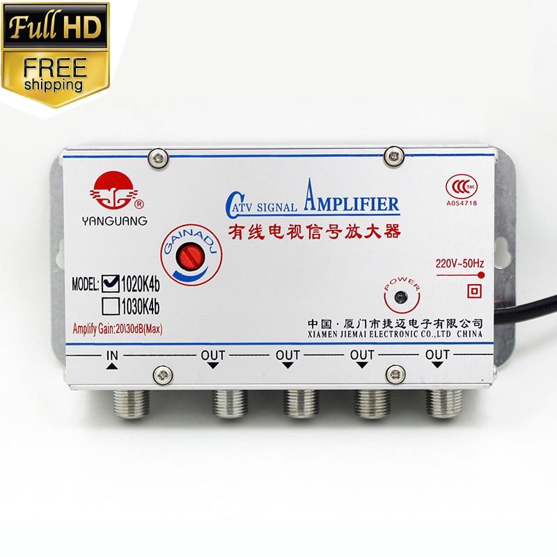 Antena para tv Digital, amplificador divisor exterior, interior, exterior, full hd, 1...